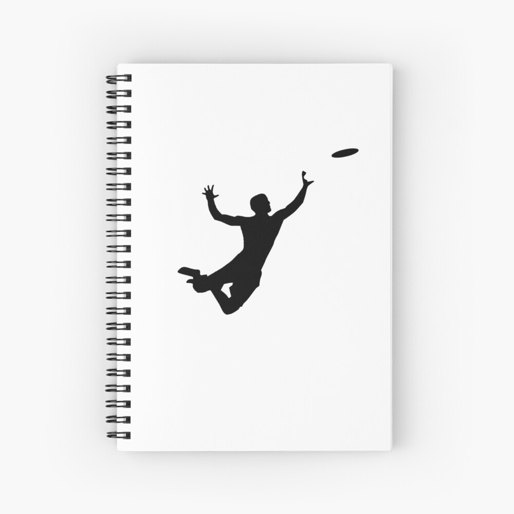 Quot Ultimate Frisbee Silhouette Frisbee Jumping Catch
