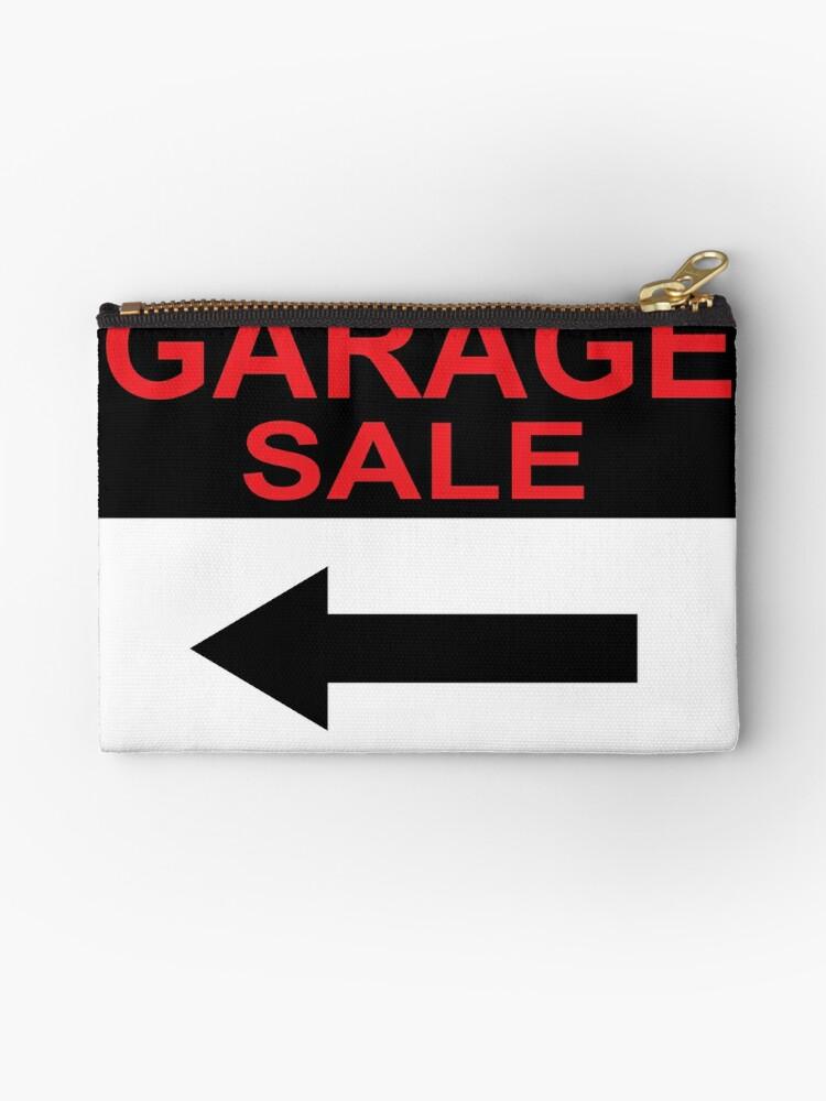 Garage Sale Sign by vectorworks51