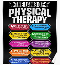 Physical Therapy Quote Posters Redbubble