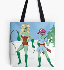 Naughty and Nice Tote Bag