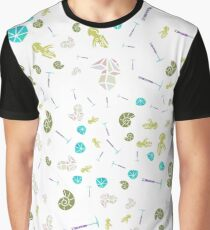 pattern on the theme: paleontology, geology, mineralogy Graphic T-Shirt