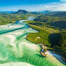 Hill Inlet Whitsundays, Queensland by Paul Pichugin
