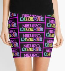 Neurodiverse (fitted) Mini Skirt