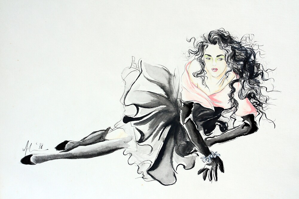 drawing 6 by malina
