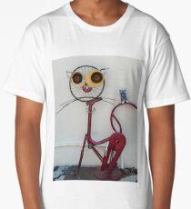 Penang Cat Art - Malaysia Long T-Shirt