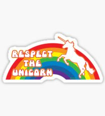 Respect the Unicorn Sticker