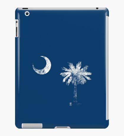 South Carolina Vintage Distressed Flag iPad Case/Skin