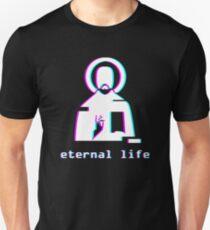 Eternal Life - Jesus Vaporwave Aesthetic T-Shirt