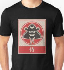 """Samurai"" Vintage Japanese Anime Poster T-Shirt"