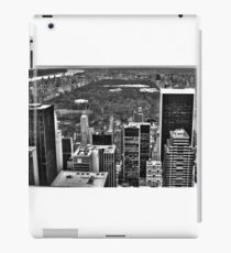 Central Park From The Top Of The Rock HDR #1 iPad Case/Skin