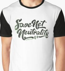 Save Net Neutrality Graphic T-Shirt