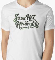 Save Net Neutrality Men's V-Neck T-Shirt