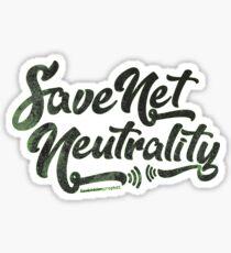 Save Net Neutrality Sticker