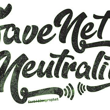 Save Net Neutrality by kushcommon
