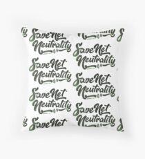 Save Net Neutrality Floor Pillow