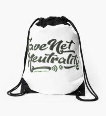 Save Net Neutrality Drawstring Bag