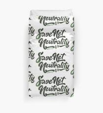 Save Net Neutrality Duvet Cover