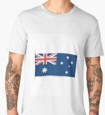 Flag of Australia. Element for infographics. Men's Premium T-Shirt