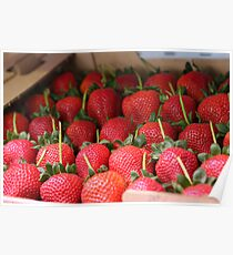 A Box Of Strawberries Poster