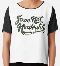 Save Net Neutrality Chiffon Top