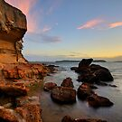 Wangi Rocks at Dusk by Mark Snelson