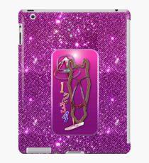 Pferd glitzer pink Horse glimmer pink iPad-Hülle & Skin