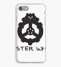 Hamster wheel iPhone Case/Skin