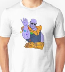 Thanos Salt Bae Meme Unisex T-Shirt