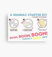 shaniac starter kit Canvas Print