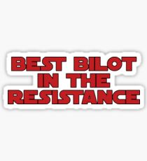 Best Bilot (red, bold) Sticker