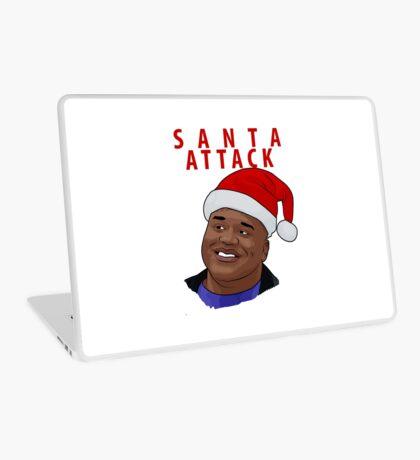 Santa Attack Laptop Skin