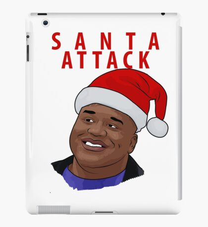 Santa Attack iPad Case/Skin