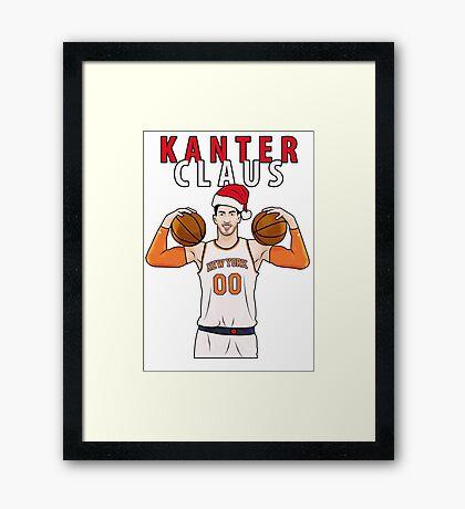 Kanter Claus Framed Print