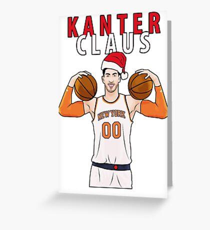Kanter Claus Greeting Card