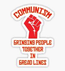 Graphic Communism Sticker