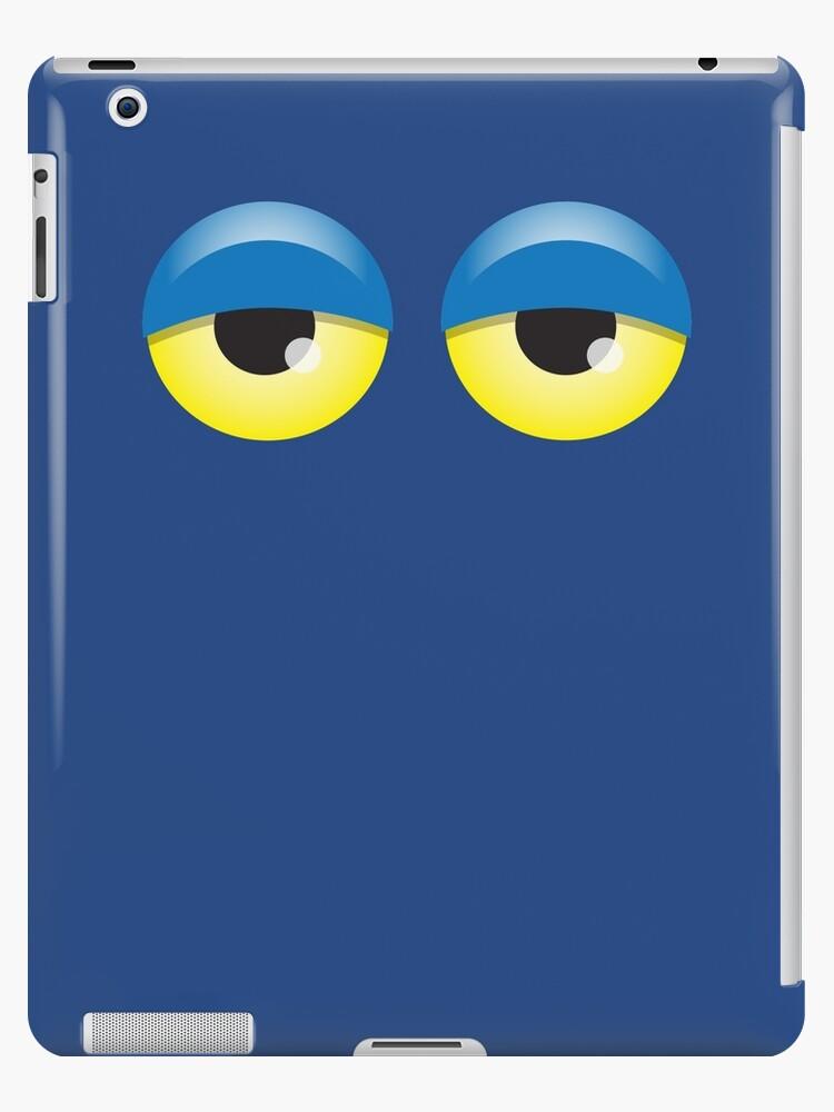 Dopey looking Blue lidded eyes by jazzydevil