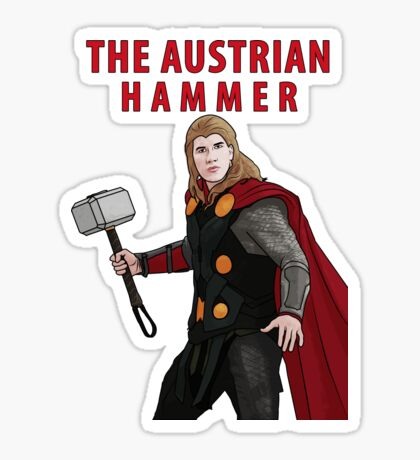 The Austrian Hammer Sticker