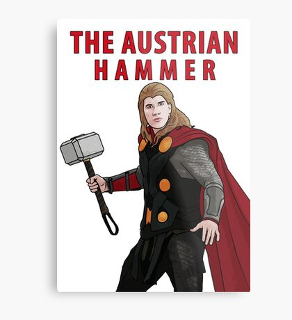 The Austrian Hammer Metal Print