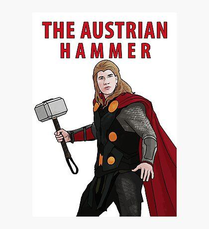 The Austrian Hammer Photographic Print