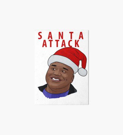 Santa Attack Art Board