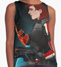 Commander Jane Shepard Contrast Tank