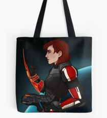 Commander Jane Shepard Tote Bag