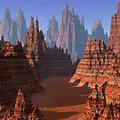 Canyon path by digitalillusion