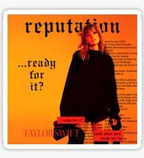 Reputation Taylor Sticker