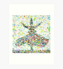 THE WHIRLING SUFI Art Print