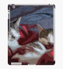 Lazy Sleeping Cats iPad Case/Skin