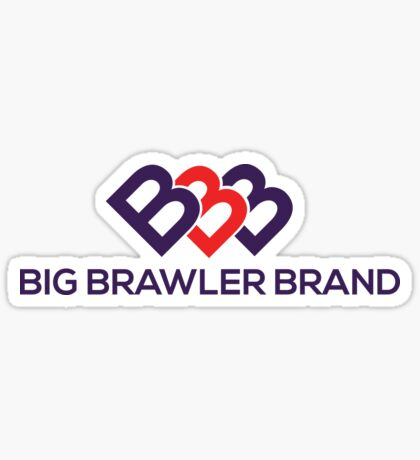Big Brawler Brand Sticker