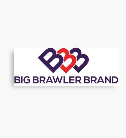 Big Brawler Brand Canvas Print