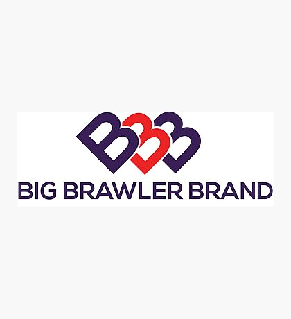 Big Brawler Brand Photographic Print
