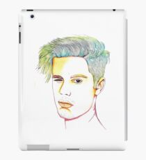 Justin Bieber Drawing Graphic iPad Case/Skin